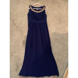 Sandiva royal blue long dress